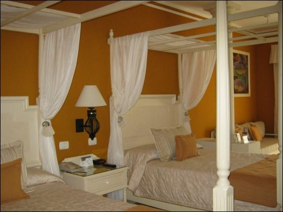 Adjoining Rooms available with King Bed & 2 Beds at Gran Bahia Principe Esmeralda /Discount Charter Vacations